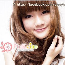 香港Yau分享 - 可可爱美人目棕 花纹造出bling bling明亮双眼