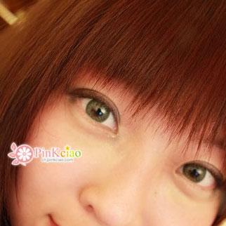 小堡分享 - geo蜜糖绿 geo幻彩三色绿 外国小孩的眼睛