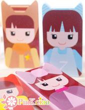 (停产不补货)时尚女孩隐形眼镜伴侣盒