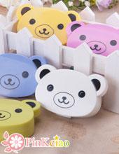(停产不补货)超萌小熊隐形眼镜伴侣盒