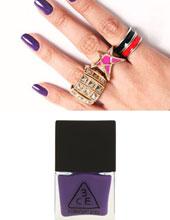 Stylenanda 3CE 深紫色指甲油 VL06(Nail Lacquer)