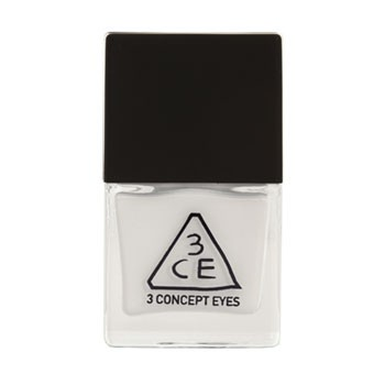 Stylenanda 3CE 白色指甲油 WH01(Nail Lacquer)