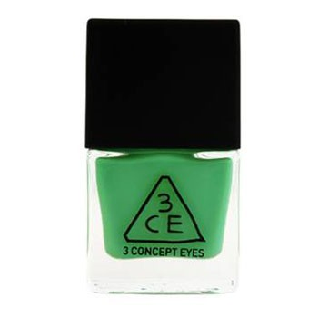 Stylenanda 3CE 绿色指甲油 GN10(Nail Lacquer)