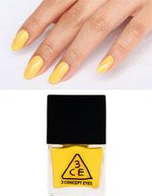Stylenanda 3CE 奶黄色指甲油 YE03(Nail Lacquer)