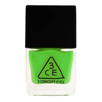 Stylenanda 3CE 绿色指甲油 GN09(Nail Lacquer)