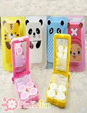 超可爱动物隐形眼镜伴侣盒