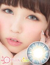 (售完不补货)Venus Eyes Mega Milky Blue 蓝(月抛/2片装/只有0度)