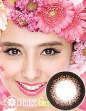 Decorative Eyes PLAY CUTE NO.1 黑巧克力×巧克力 (月抛/2片装)