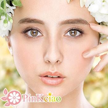 Decorative Eyes PLAY COOL NO.1 灰色×金色 (月抛/2片装)