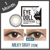 Eye Doll Milky Gray 1 monthly