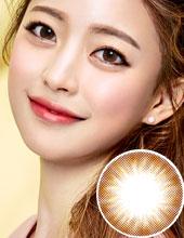 O-Lens Chuing Monthly Brown (月抛/2片装)