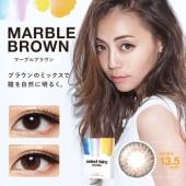 Select Fairy 1 Month Marble Brown 立体棕 (月抛/2片装)