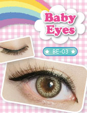 日本popteen模特最爱magic magic假睫毛-Baby Eyes BE-03
