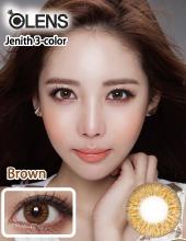 O-lens Jenith 3 Color Brown (半年抛/两瓶一对)