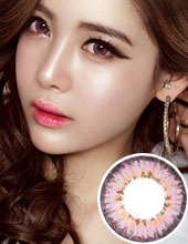 O-lens French 3 Color Pink (半年抛/1瓶1片/需预订3-4星期)