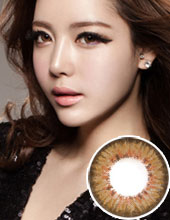 O-lens French 3 Color Brown (半年抛/1瓶1片)