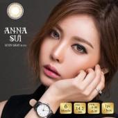 O-Lens Anna Sui 3 con Gray (硅水凝胶/半年抛/1瓶1片)