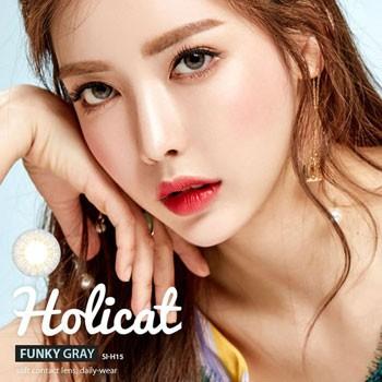 GEO Holicat 3 Tone Funky Gray 时尚灰 (月拋/2片装)