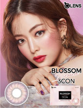 O-Lens Blossom Pink 1 month  (月拋/2片装/需预订3-4天)