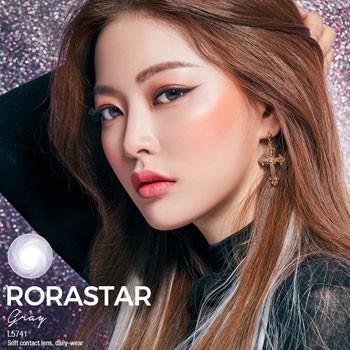 O-Lens Rorastar Gray 3 months (月拋/2片装/需预订3-4天)
