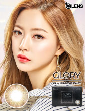 O-Lens Glory Brown 1 month (硅水凝胶/月拋/2片装/需预订3-4天)