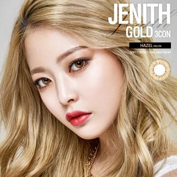 O-Lens JENITH GOLD 3 CON HAZEL 2 weeks (双周拋/4片裝/需预订3-4天)
