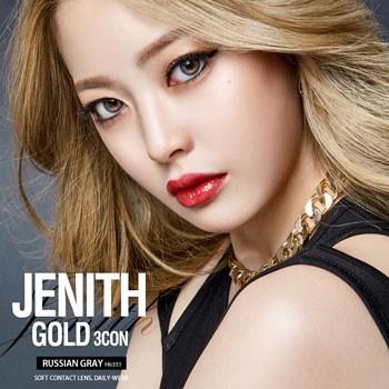 O-Lens JENITH GOLD 3 CON RUSSIAN GRAY 2 weeks (双周拋/4片裝/需预订3-4天)