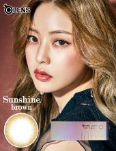 O-Lens Sunshine 1 Day Brown  (日拋/20片裝/需预订3-4天)