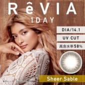 ReVIA 1 day Sheer Sable (日拋/10片裝/需预订3-4天)